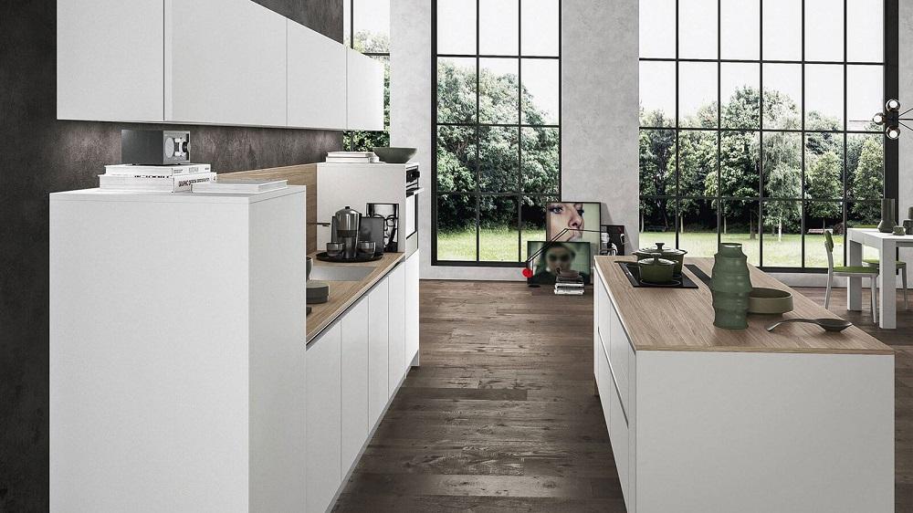 modèle cuisine blanche